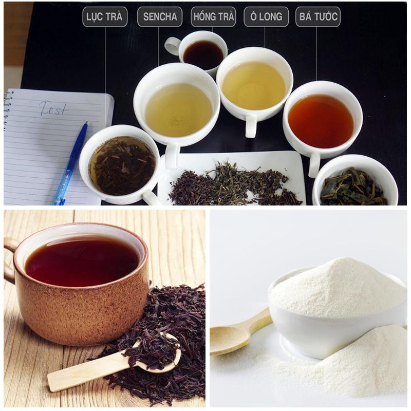 cách làm trà sữa trân châu 1