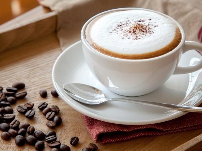 cách pha chế cà phê capuchino