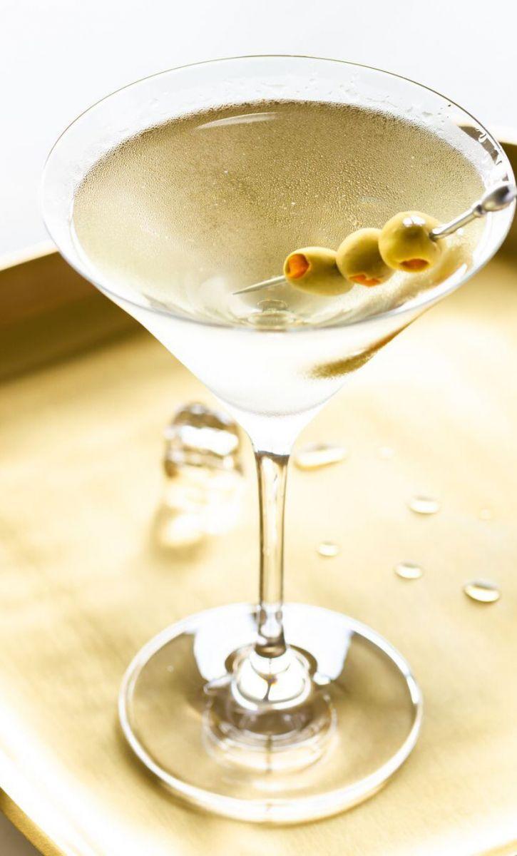 công thức pha chế cocktail Martini