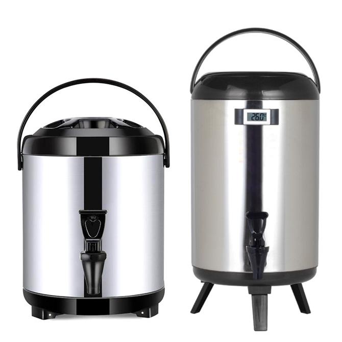 dụng cụ bình ủ trà mở quán trà chanh