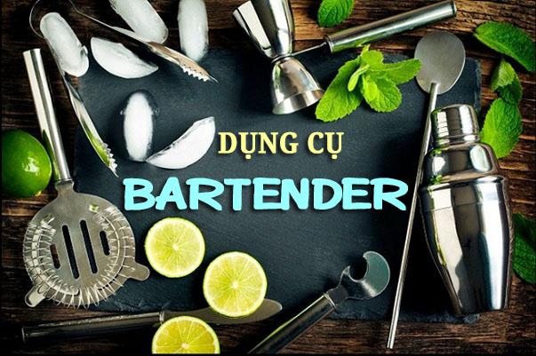 dụng cụ của bartender chuyên nghiệp