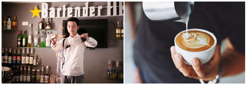 Khác nhau giữa bartender và barista