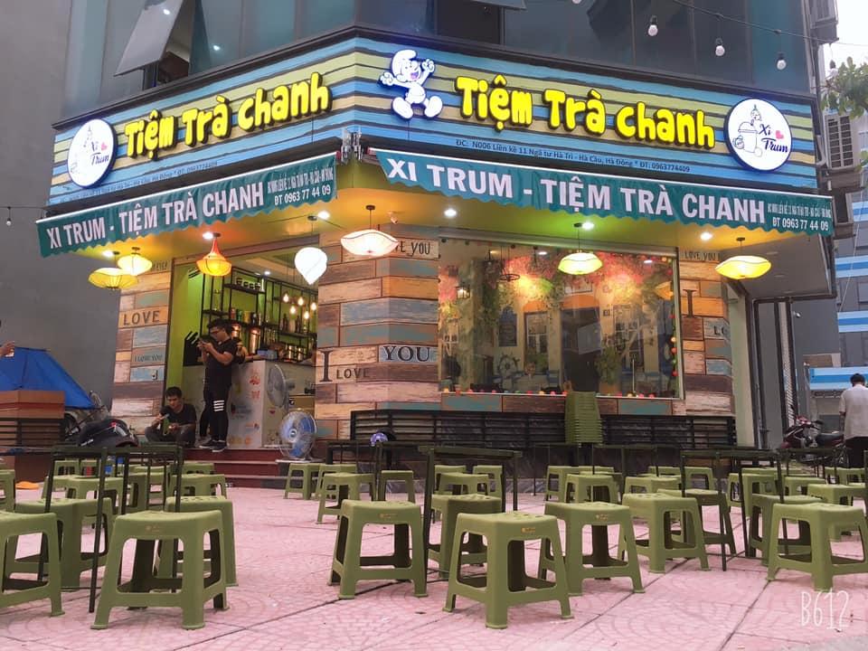 kinh nghiệm mở quán trà chanh