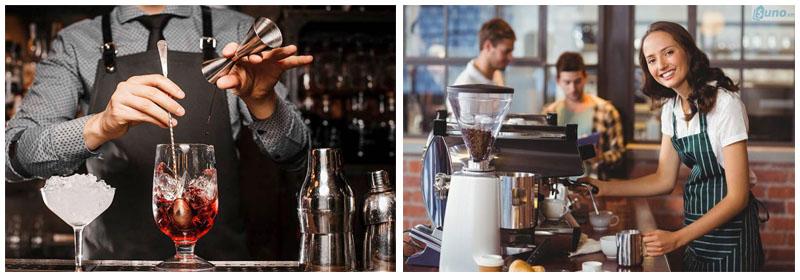sự khác nhau của nghề bartender và nghề barista